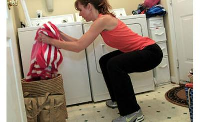Turn Housework Into A Workout