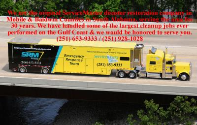 ServiceMaster Mobile, AL Water Damage Service In the News
