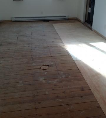 Hardwood floor installation south jersey for Wood floor installation nj