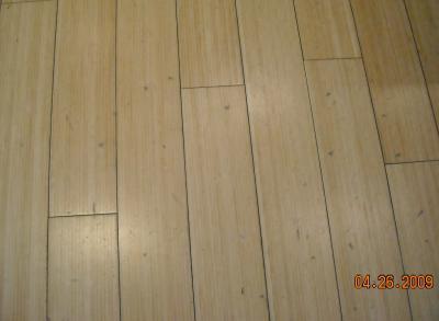LongportNJ Hardwood Floor Refinishing Bamboo Floors Before - Bamboo floor scratches easily