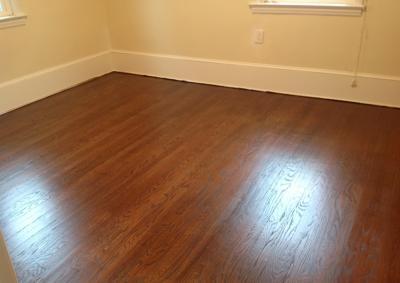Refinishing And Staining Hardwood Floor In Margate Nj