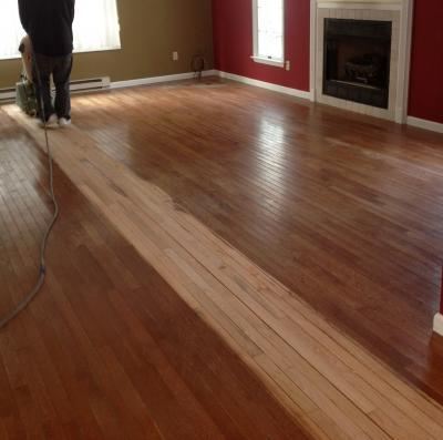 Wood floor refinishing Galloway, NJ 08205 by Extreme Floor Care