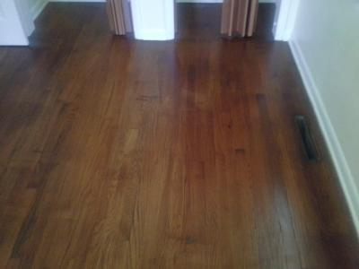 1 Day No Sanding Wood Floor Refinishing