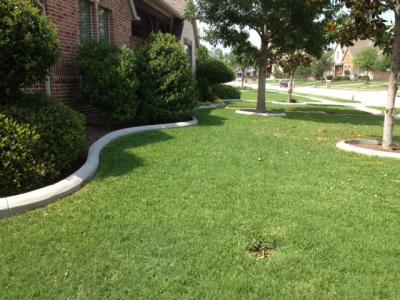 Landscape curbing fort worth