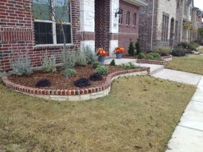 Pier solar and the great architects wiki landscape for Flower bed edging stone