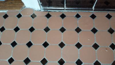 Ceramic Tile Grout Restoration In Potomac Maryland - Ceramic tile stores maryland