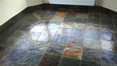 Slate Floor Cleaning And Sealing Orange Ca