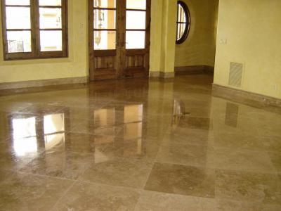 Polishing Tiles Granite Marble Travertine Tile Floor Newport