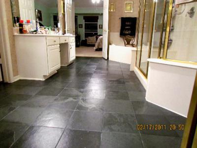 Cleaning And Sealing Slate Floors Showers And Countertops Newport