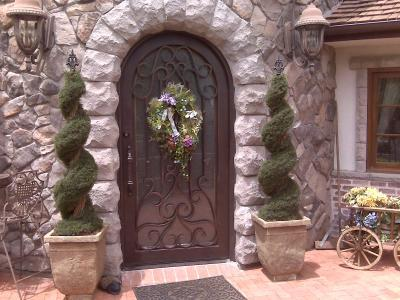 & Iron Entry Door Houston TX 77015 Custom wrought Iron Gate