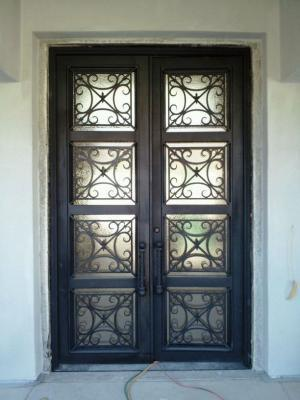 Beautiful Iron Entry Doors In Sonoma Ca 95476