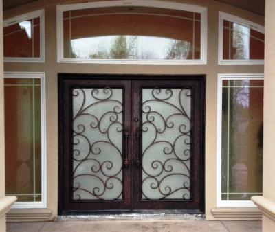 Gilbert Arizona Iron Double Entry Door