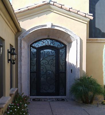 Security With Iron Entry Doors In Arizona