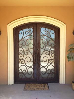 Beautiful Iron Front Door In Phoenix AZ