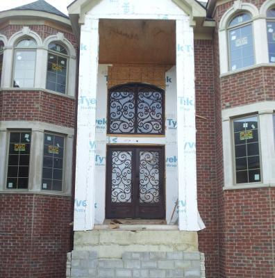 Salt Lake City Provo Ogden Utah Custom Iron Entry Door