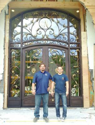 Iron Entry Doors Los Altos Cupertino Sunnyvale California Custom