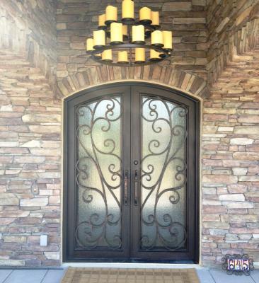 Custom Iron Entry Door Oklahoma City Ok 73151 Iron Garage