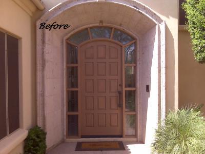 Iron Entry Door In Phoenix AZ 85044 Custom Ornamental Iron Railing