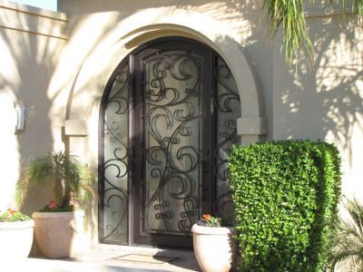 Beautiful Custom Iron Entry Doors In San Jose Ca 95109