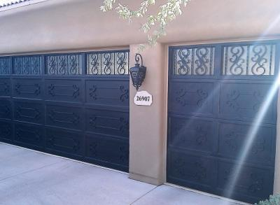 Wrought Iron Garage Doors