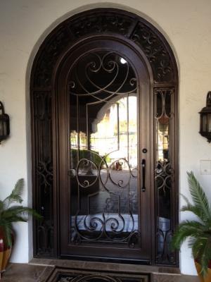 Custom Iron Entry Doors Goodyear, Phoenix, Avondale Arizona