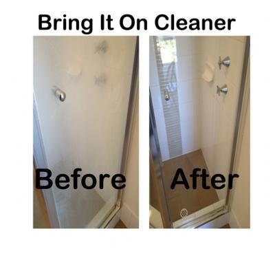 how to clean shower grout with oxygen bleach